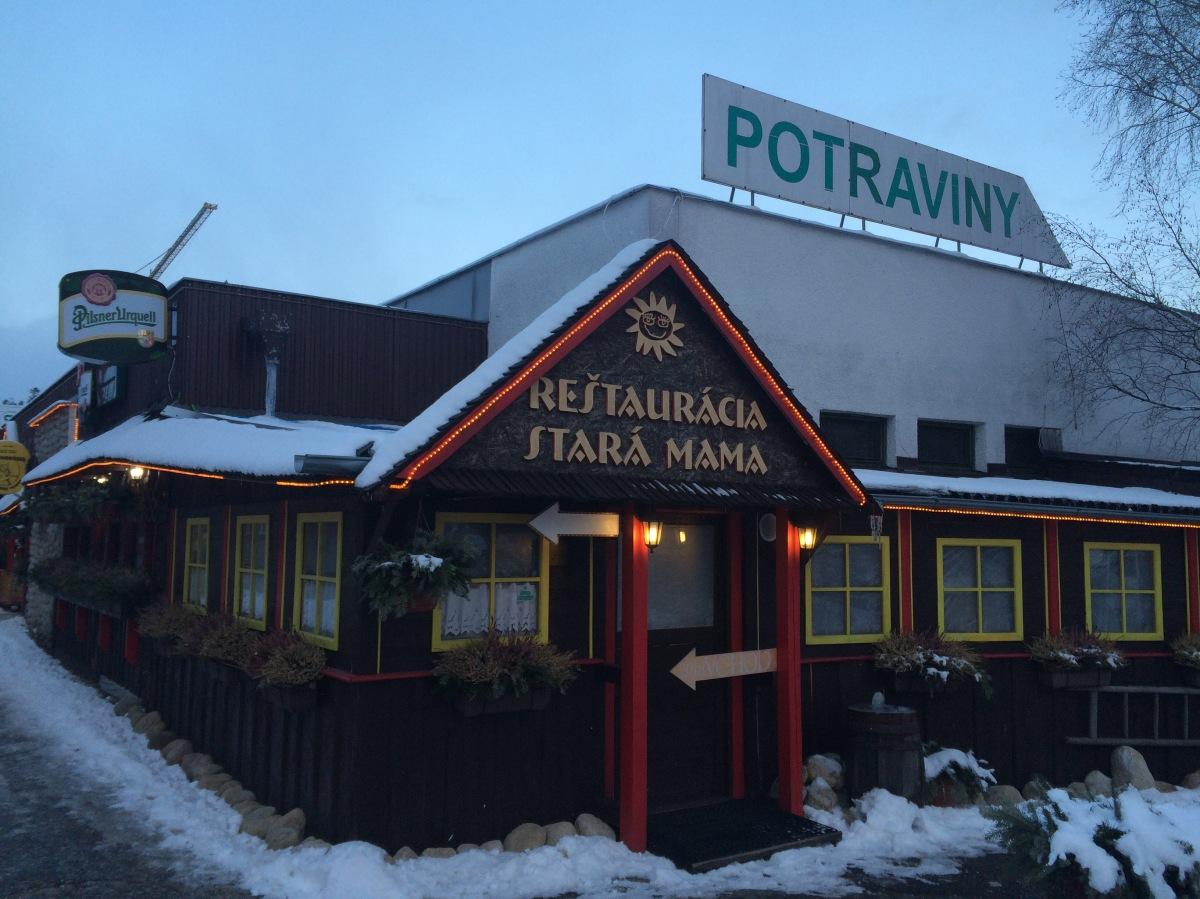 Restauracja Stara Mama - Tatrzańska Łomnica