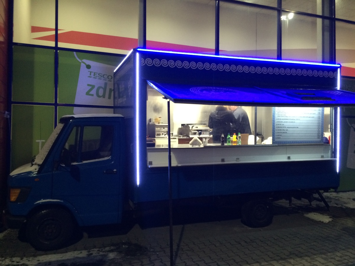 Real Greek Food Truck - KRAKÓW, ul. Dajwór 21