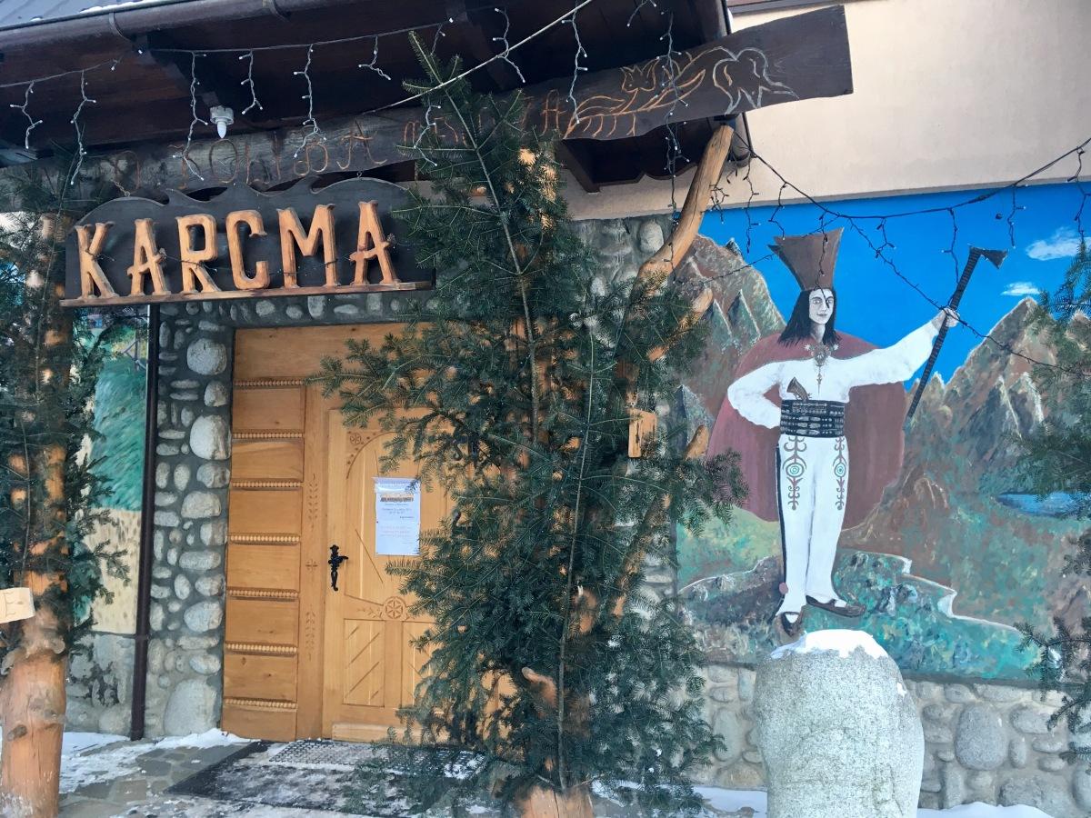 Jak karmić turystę aby już nie wrócił - Karcma u Miescorza - Białka Tatrzańska