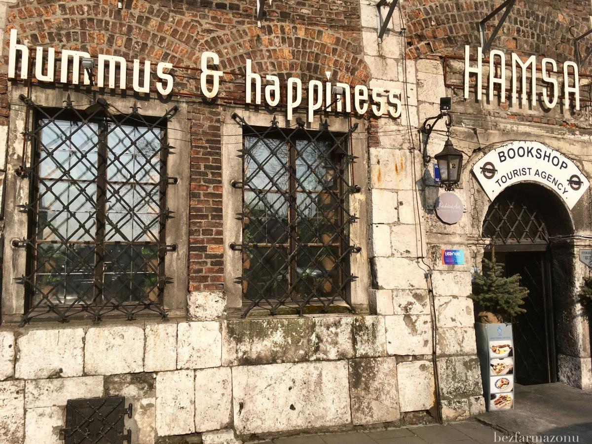 Śniadanie w formie bufetu - Hamsa hummus & happiness restobar - KRAKÓW, ul. Szeroka