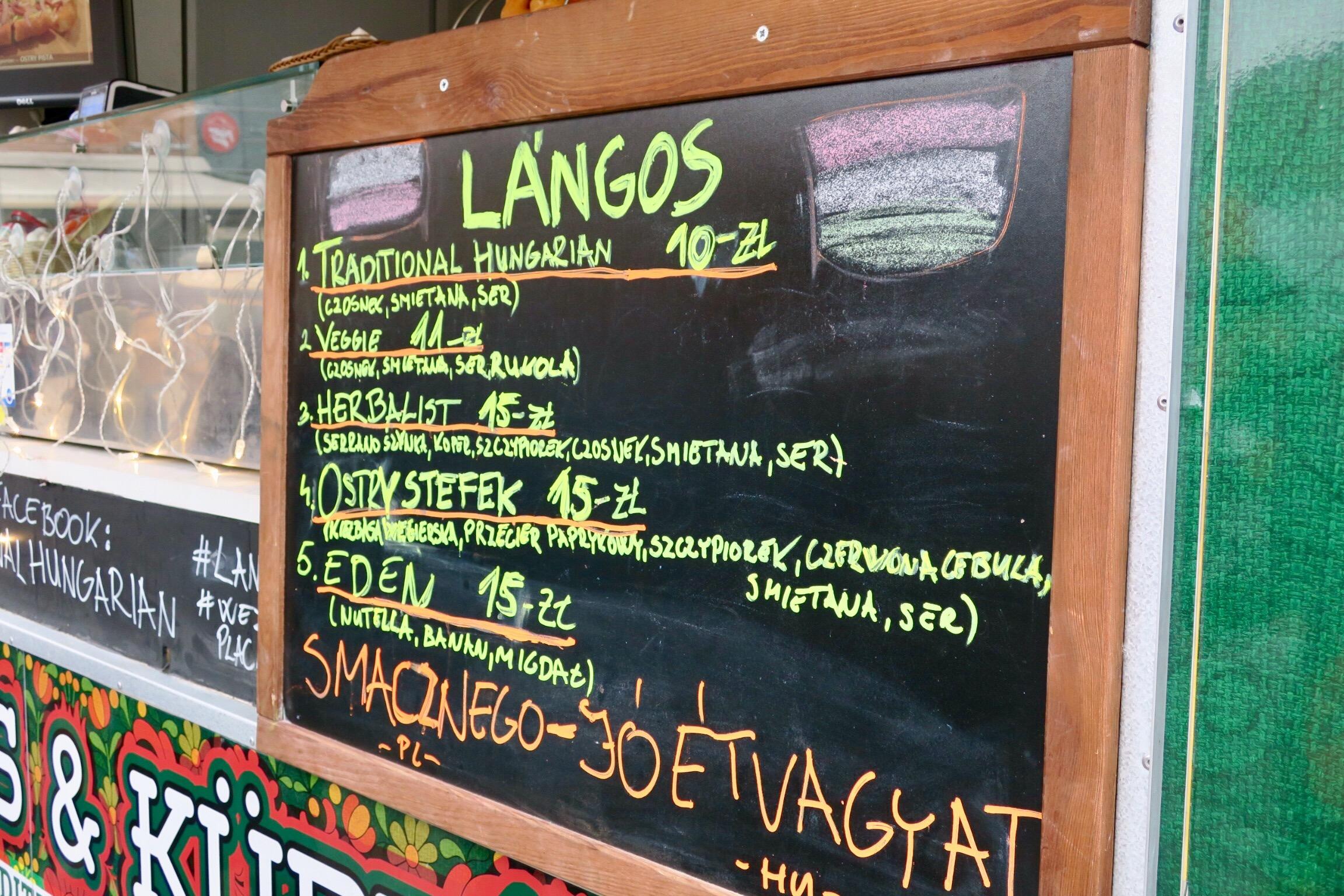 Prawdziwie Węgierski Przysmak Traditional Hungarian Langos