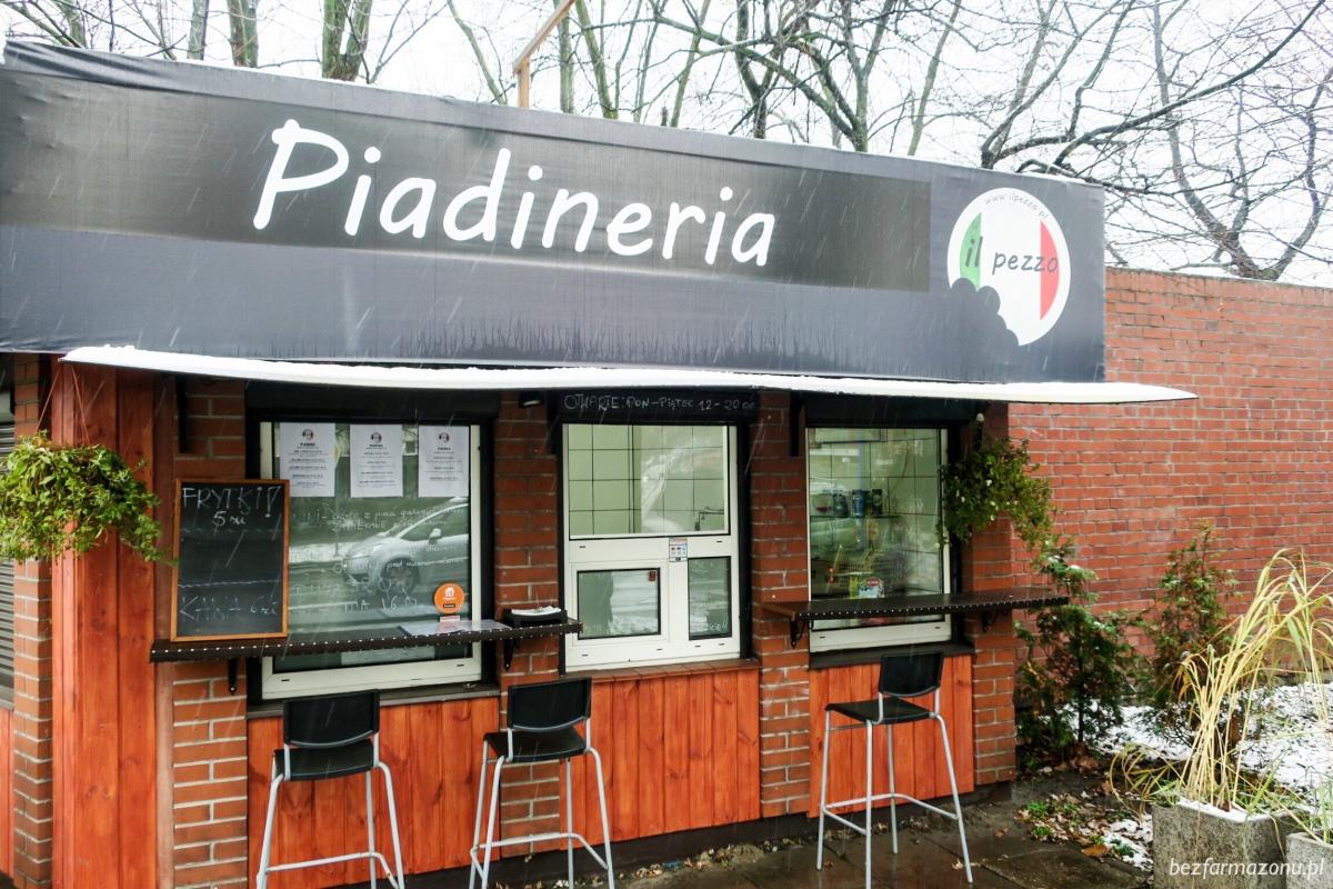 Włoski fastfood - Piadineria Il pezzo - Kraków, ul. Nawojki