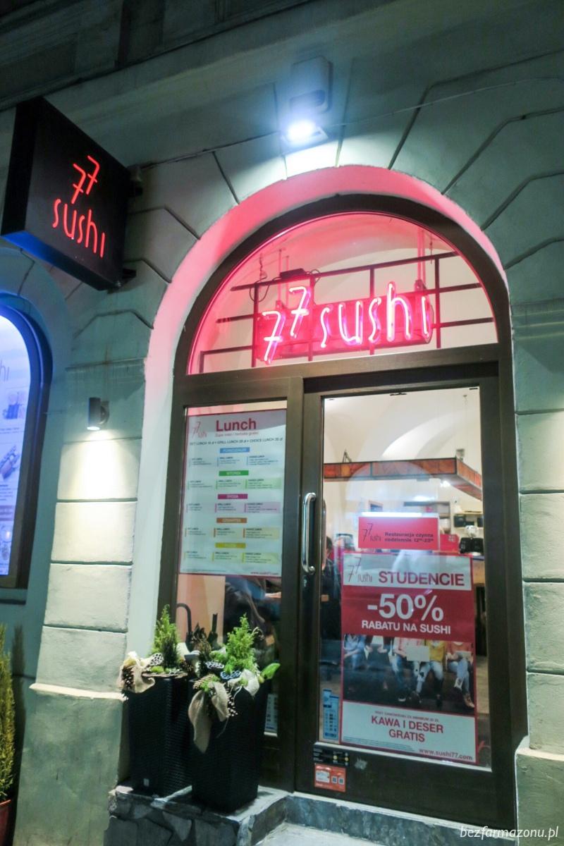 Suszarnia w Starym Mieście - 77 Sushi - Kraków, ul. Poselska