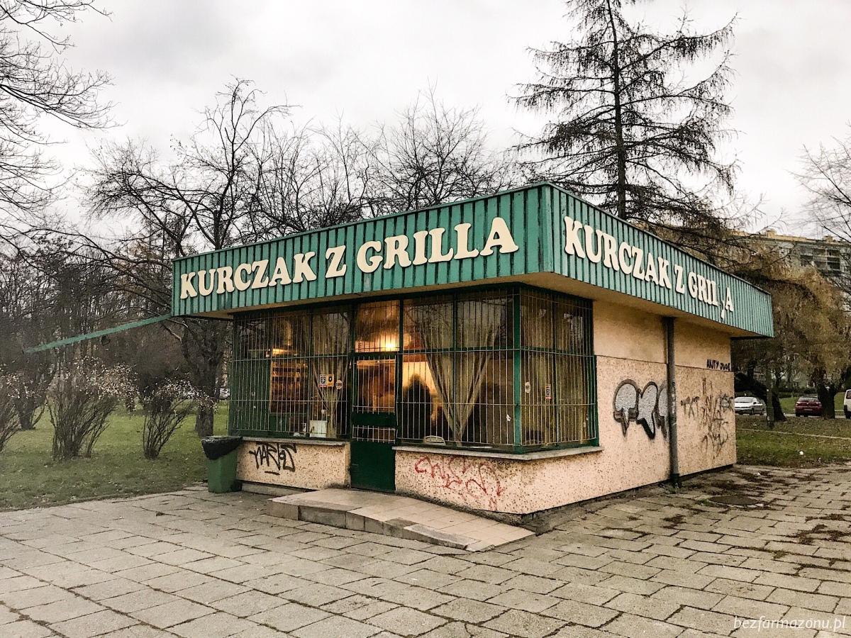 Legendarna nowohucka kanciapa - Kurczak z rożna - KRAKÓW, rondo Kocmyrzowskie