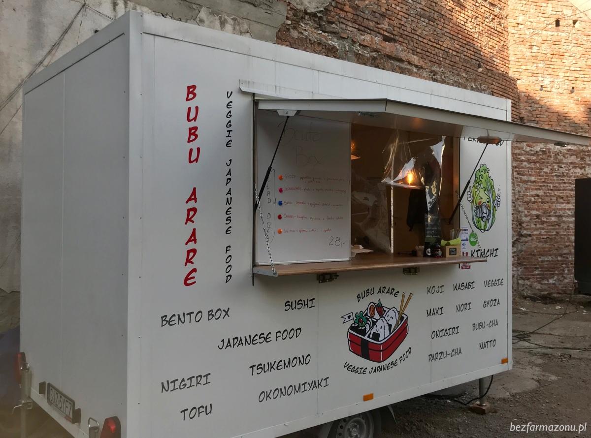 Bubu Arare Veggie Japanese Foodtruck - KRAKÓW, Truckarnia, ul. Dajwór